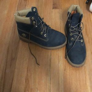 Navy blue Tims